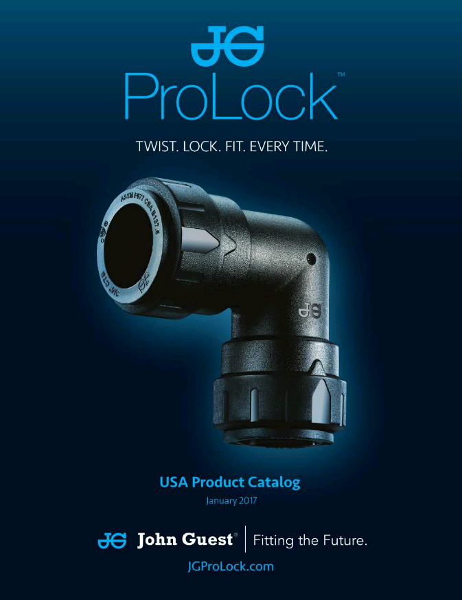 John Guest USA ProLock Catalog